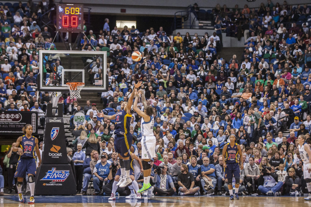 Minnesota Lynx basketball shot 2